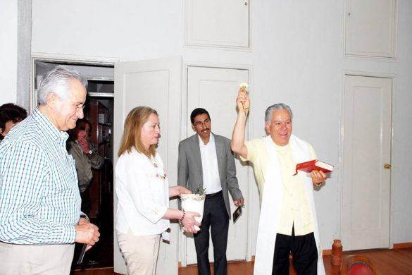 Visita De Monseñor Antonio Soto A Las Nuevas Instalaciones