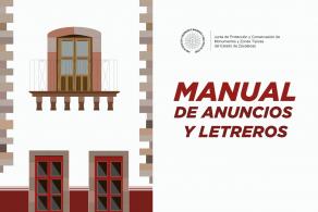 Manual De Anuncios Y Letreros