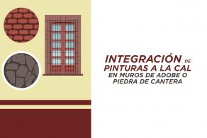 Integración De Pinturas A La Cal En Muros De Cantera O Piedra